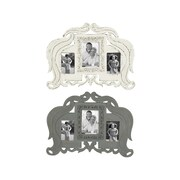 One Allium Way Vintage Themed Wall Picture Frame (Set of 2)