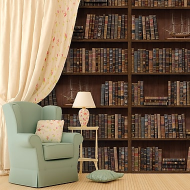Walplus Vintage Library Wall Decal (Set of 3)