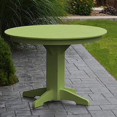 Red Barrel Studio Nettie Dining Table; Lime Green