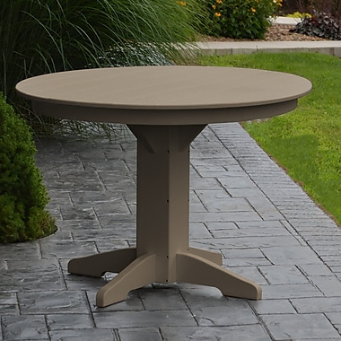 Red Barrel Studio Nettie Dining Table; Weathered Wood