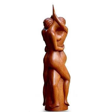 Bloomsbury Market Ted Enamored Couple Wood Figurine