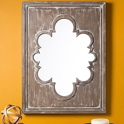 Bungalow Rose Kalki Exquisite Decorative Mirror; Baltic