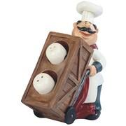 Major-Q 6.5'' H Barrel Chef Salt and Pepper Set