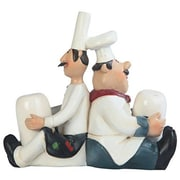 Major-Q 5'' H Barrel Chef Salt and Pepper Set
