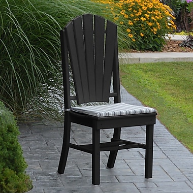 Red Barrel Studio Nettie Dining Side Chair; Black