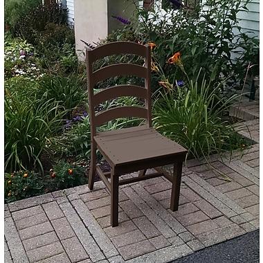 Red Barrel Studio Nettie Dining Side Chair; Tudor Brown