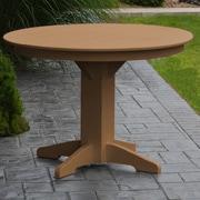 Red Barrel Studio Nettie Dining Table; Cedar