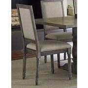 One Allium Way Snellville Parsons Chair (Set of 2)