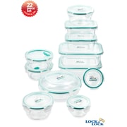 Lock & Lock 22 Piece Bisfree Food Storage Container Set