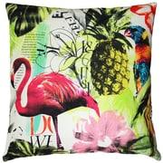 Pillow Decor Tropical Oasis Cotton Throw Pillow