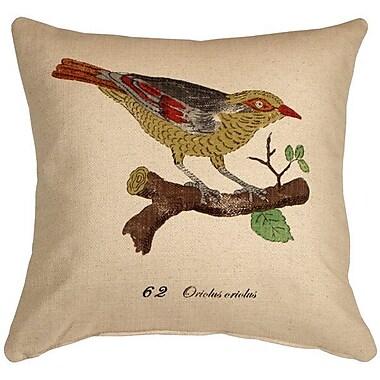Loon Peak Cotulla Bird on Branch Throw Pillow