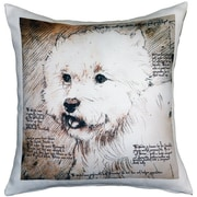 Pillow Decor Westie Terrier Dog Indoor/Outdoor Throw Pillow