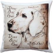Pillow Decor What Makes a Dog Throw Pillow