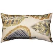 Pillow Decor Autumn Leaves Cotton Lumbar Pillow