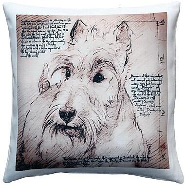 Red Barrel Studio Charrington Scottish Terrier Dog Indoor/Outdoor Throw Pillow