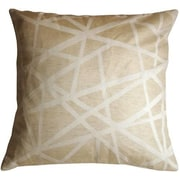 Pillow Decor Criss Cross Stripes Throw Pillow