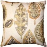 Pillow Decor Autumn Leaves Cotton Throw Pillow
