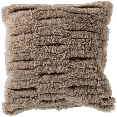 Union Rustic Hensley Cut Out Wool Throw Pillow; Polyester