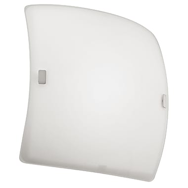 Orren Ellis Stewart 1-Light Wall & Ceiling Sconce; 4.38'' H x 22.88'' W x 22.88'' D