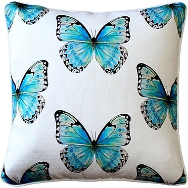 Latitude Run Moravia Butterfly Large Scale Throw Pillow