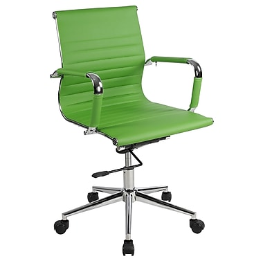 Lone Star Chairs Mid-Back Desk Chair; Green