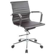 Lone Star Chairs Mid-Back Desk Chair; Brown