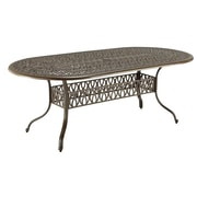 One Allium Way Sudie Dining Table; Taupe