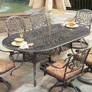 One Allium Way Sudie Dining Table; Charcoal