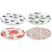 One Allium Way James 4 Piece Round Coasters Set
