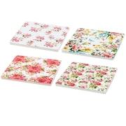 One Allium Way James 4 Piece Square Coasters Set