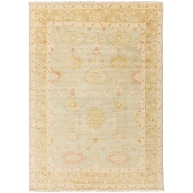 One Allium Way Brie Gold/Slate Area Rug; 3'6'' x 5'6''
