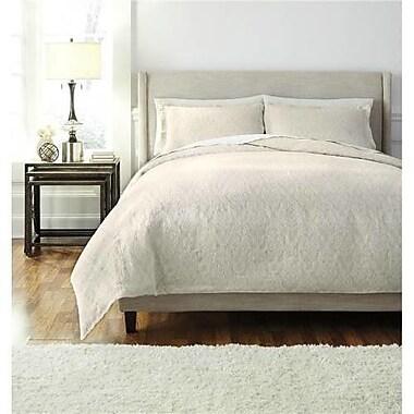 One Allium Way Delincourt 3 Piece Comforter Set; Queen