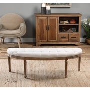 One Allium Way Kennedy Upholstered Bedroom Bench