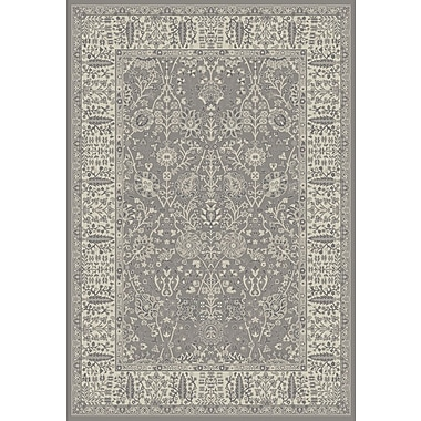 One Allium Way Tannen Garden Gray Area Rug; 8' x 10'