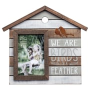 Prinz 'Birds of a Feather' Distressed Wood Picture Frame