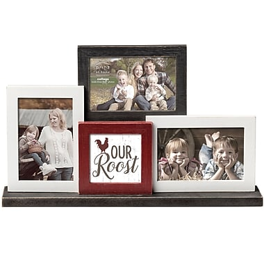 Prinz 3 Opening 'Our Roost' Mantel Picture Frame