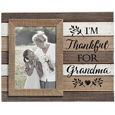 Prinz Casual Pallet 'Thankful for Grandma' Picture Frame