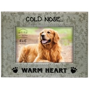 Prinz Messages & Moments 'Cold Nose Warm Heart' Metal Picture Frame