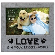 Prinz Messages & Moments 'Love Is A Four Legged Word' Metal Picture Frame