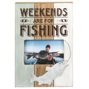 Prinz 'Weekends are for Fishing' Picture Frame