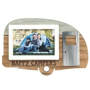 Prinz 'Happy Campers' Wooden Picture Frame