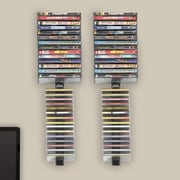 Symple Stuff Multimedia Wall Mounted Storage Rack (Set of 4)