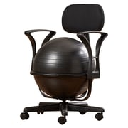 Symple Stuff Exercise Ball Chair; With Arms