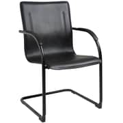 Symple Stuff Guest Chair (Set of 2); Black