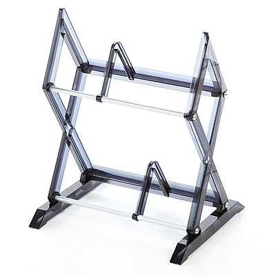 Symple Stuff 2 Tier Multimedia Storage Rack WYF078280341990
