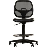 Symple Stuff Mid-Back Mesh Drafting Chair; Vinyl Seat