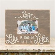 Glory Haus Life Is Better At the Lake Picture Frame