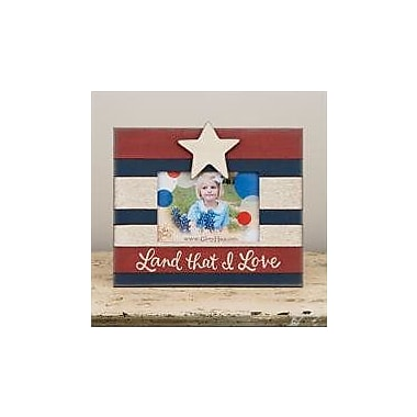 Glory Haus Land That I Love Star Picture Frame