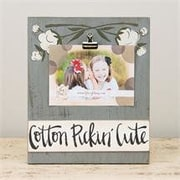 Glory Haus Cotton Pickin Cute Clip Picture Frame