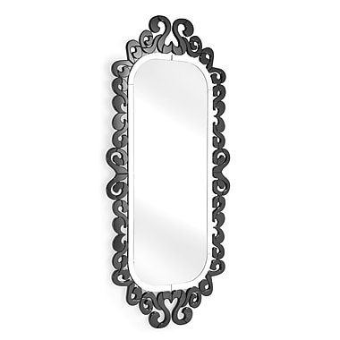 World Menagerie Wall Mirror; Black